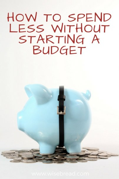How to Spend Less Without Starting a Budget