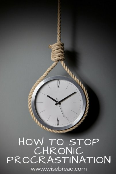 How to Stop Chronic Procrastination