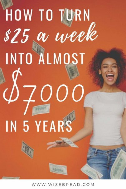 Want to turn $25 a week into almost $7000? We've got the investment advice that will help you earn extra money in 5 years! Check out our tips on bond funs, and how to make them work for you! | #investment #investing #bonds