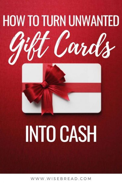Wouldn't it be great if you could turn gift cards into cash? We've got the tips to help you earn extra cash from those cards! | #giftcards #christmas #extracash
