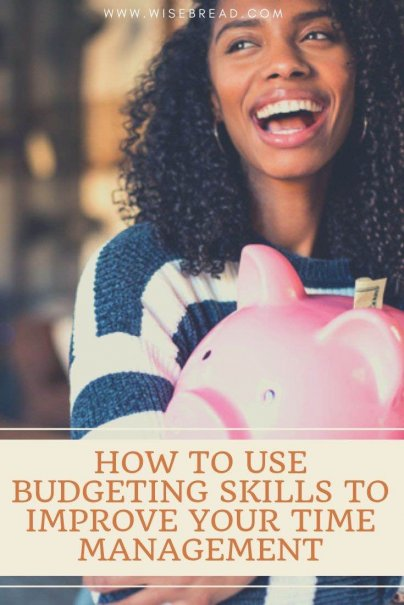 Want to improve your time management? Tracking your spending and sticking to your budget can provide your with key time management skills. See how with our guide. | #budgeting #timemanagement #budget