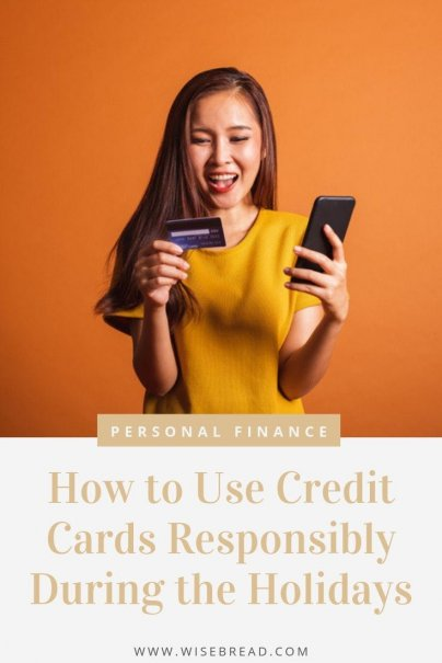 Credit card use in the holidays can amount to a lot of debt. But they you can also earn valuable rewards for holiday spending. Before you pull out the plastic this year, consider these tips for using your credit cards responsibly during the holidays. #creditcard #debtadvice #shopping
