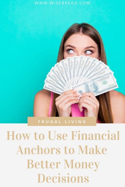 Want to improve your personal finance budget? Financial anchors can do more than just warp your sense of an appropriate amount to pay. Intentionally adopting anchors can also help you to make better money decisions. Here's the tips you need to know to save money! | #financialanchors #personalfinance #frugalliving