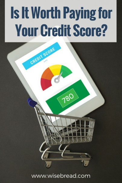 Is It Worth Paying for Your Credit Score?