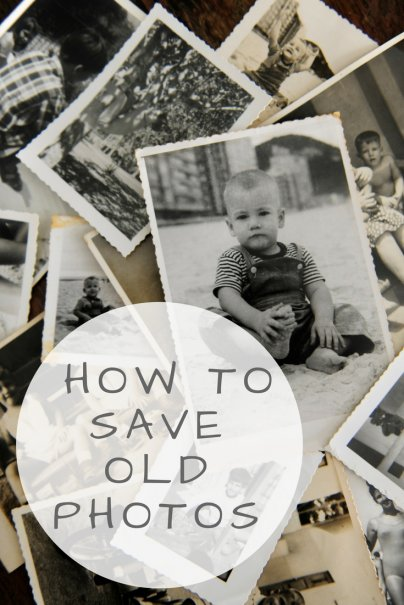 Maintaining Memories: How to Save Old Photographs