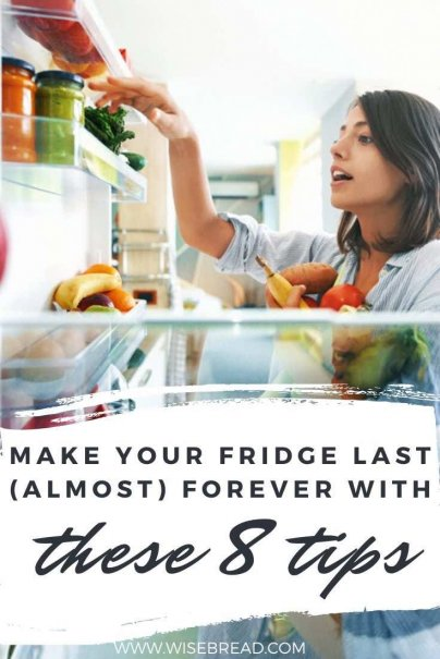 Want to make your fridge last for longer? We've got some great hacks and tips to ensure that your fridge is running efficiently and for years beyond the warranty. | #kitchenhacks #fridge #lifehacks