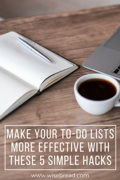 Make Your To-Do Lists More Effective With These 5 Simple Hacks