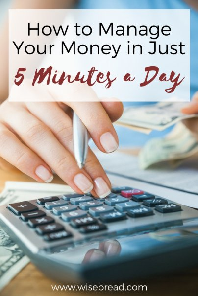 Money Management in 5 Minutes a Day