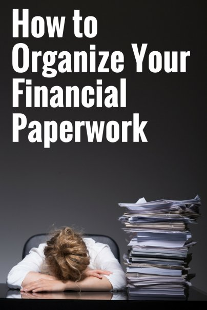 Organizing Your Financial Paperwork