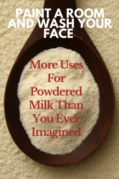 Paint a Room and Wash Your Face: More Uses For Powdered Milk Than You Ever Imagined
