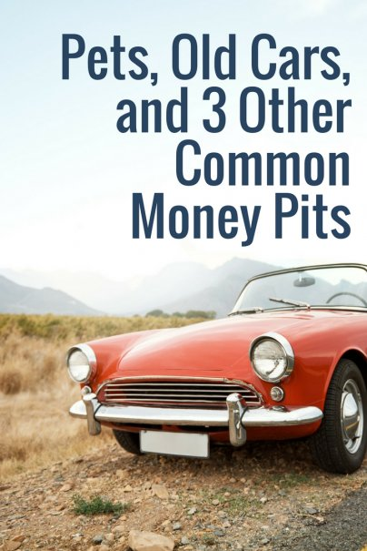Pets, Old Cars, and 3 Other Common Money Pits