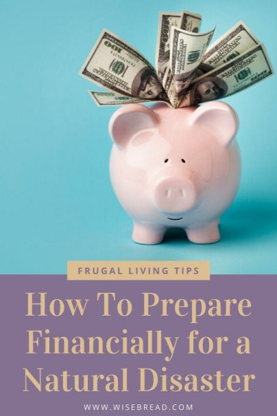 Are you prepared financially for a national disaster? Here's what you need to know to be prepared. | #nationaldisaster #finances #personalfinances