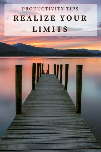 Can Limits Help Productivity Soar?