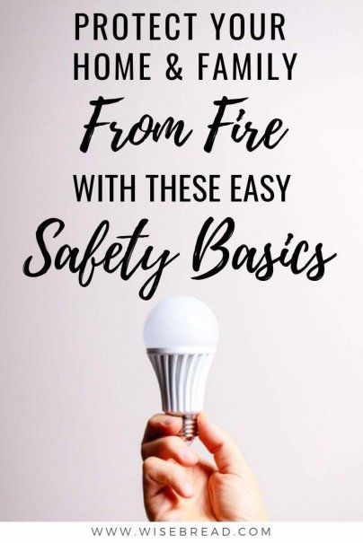Want to know how to make your home risk and hazard free when it comes to accidental fires? These are the home safety tips to protect your home and family from fire! | #fire #hazards #safetytips