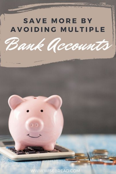 Want to save more? Keep it simple. People save more if they have just one account compared to multiple checking and savings accounts,here's why. | #savingmoney #moneysaving #savingtips