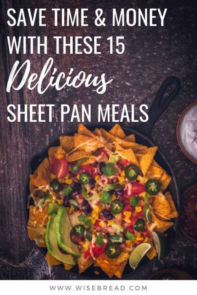Feel like you're constantly stuck in a dinner rut? Instead, use sheet pan meals to cook a delicious dinner, all in one pan. We've got 15 great recipes! | #easymeals #simplemeals #easyrecipes