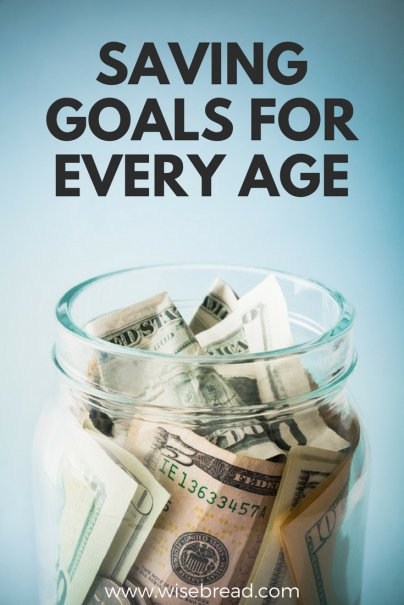 Saving Goals for Every Age