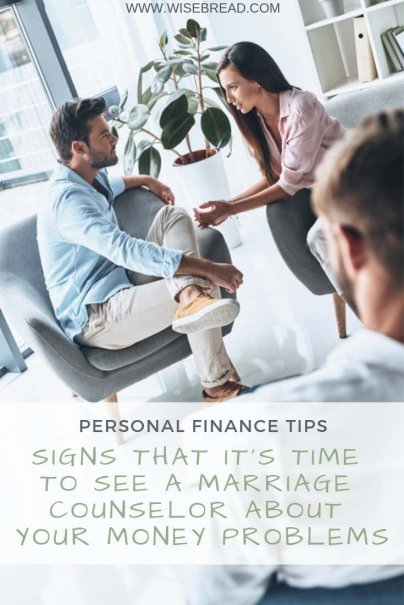 Is your partner having a financial affair? Are you having trust and communication issues about money? We've got the tips and signs for when it's time to seek couples therapy for your money problems | #moneymatters #couplestherapy #personalfinance #debt