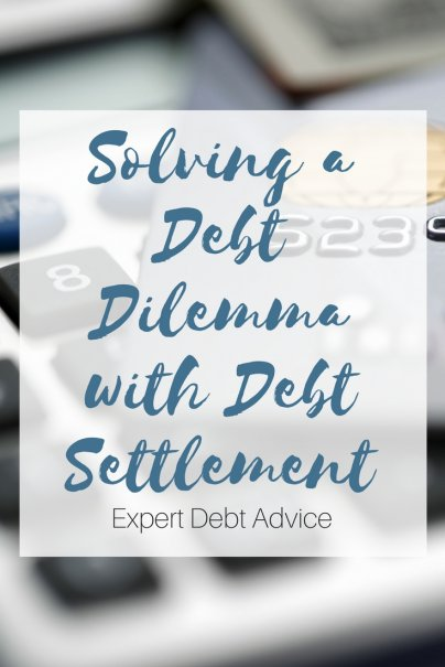 Solving a Debt Dilemma with Debt Settlement
