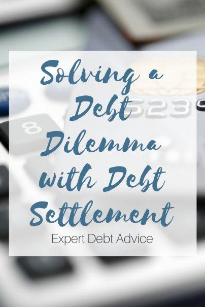 Solving a Debt Dilemma with Debt Settlement
