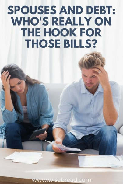 Spouses and Debt: Who's Really on the Hook for Those Bills?