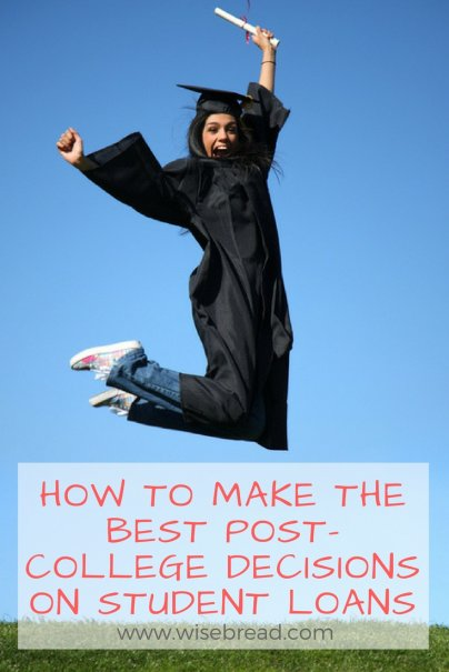 Student Loans: How to Make Post-College Decisions