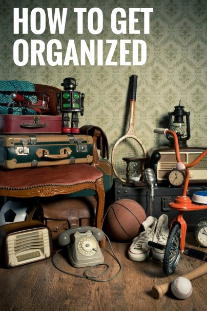 Stuff will never make you organized