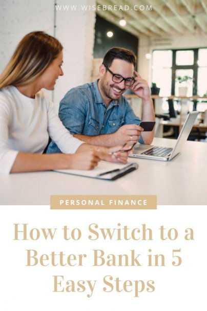 Switching banks can be a pain, as you need to close accounts, do the research, and set up automatic bill payments and more. If you need or want to switch to a new bank, follow this simple step-by-step guide. Doing so will ease any stress from jumping to a new financial institution. | #bankadvice #finance #financehelp