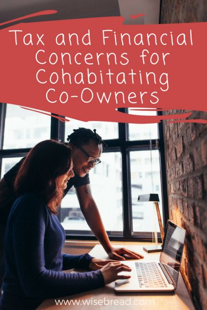Tax and Financial Concerns for Cohabitating Co-Owners