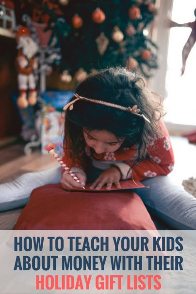 Teach Your Kids About Money With Their Holiday Gift Lists