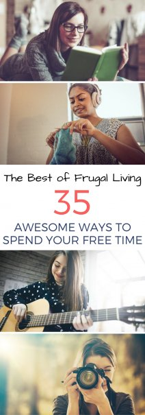 The 35 Best Ways to Spend Your Free Time (Frugally)