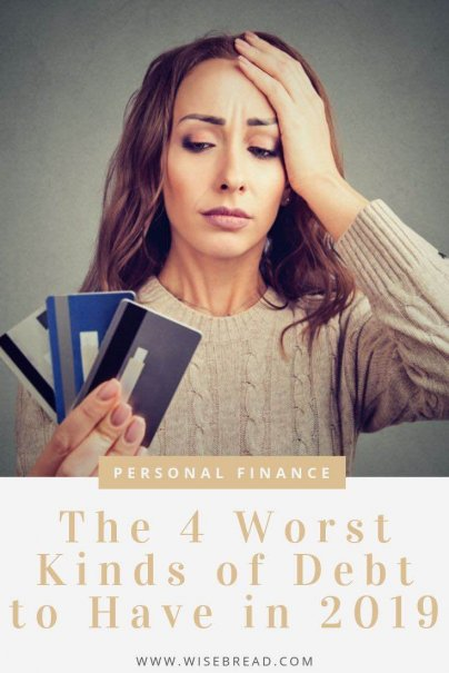 If you want to build wealth and have financial freedom, these are the types of debts to make sure you avoid. Get your personal finances ahead by avoiding these debt offenders. | #financetips #personalfinance #debtadvice