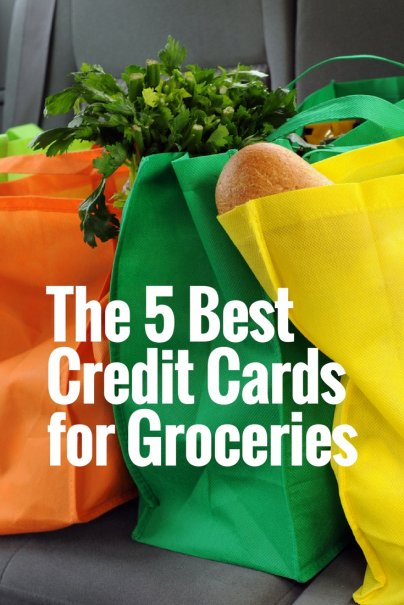 The 5 Best Credit Cards for Groceries