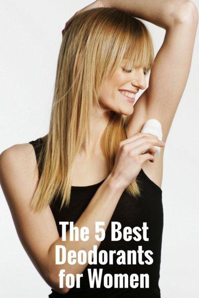 The 5 Best Deodorants for Women