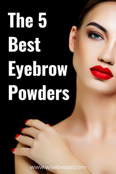 The 5 Best Eyebrow Powders