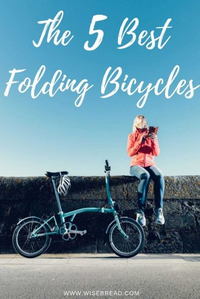 Don't have much space and want a bike? Fortunately, a folding bike can get you where you need to go without taking up much place in your house. Here are the 5 best ones to choose from!   #foldingbike #bicycle #lifehacks