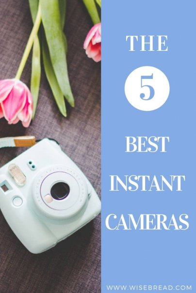 Instant cameras seem to be all the rage right now. They combine old-school Polaroid cameras with new-world technology. Want to know the best instant camera to take happy candid shots of your friends and families? We've listed the 5 best ones! | #polaroid #fujifilm #instantcamera