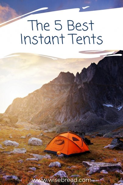 The 5 Best Instant Tents