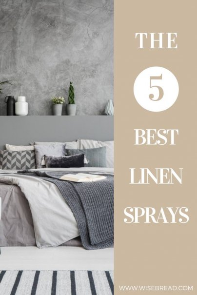 Linen spray can make any room, linen, and clothing smell great! Some can even help you sleep. Check out the 5 best linen sprays on the market! | #linenspray #linen #housekeeping