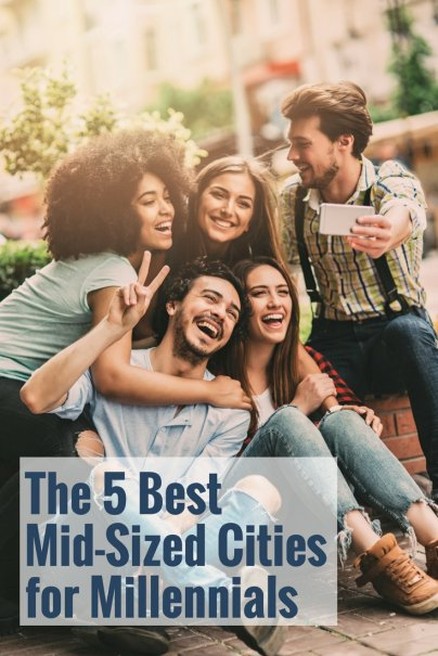 The 5 Best Mid-Sized Cities for Millennials