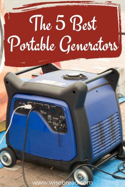 The 5 Best Portable Generators