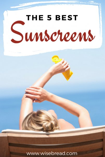 The 5 Best Sunscreens