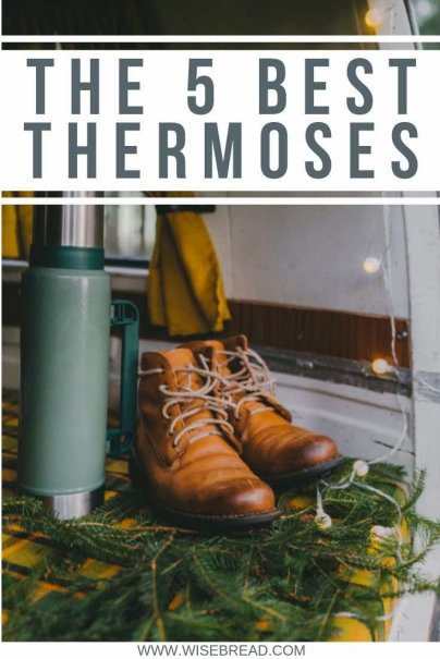 If you want to keep hot things hot and cold things cold, you need a thermos. These are the 5 best thermos that can last for years! | #thermos #products #lifehacks