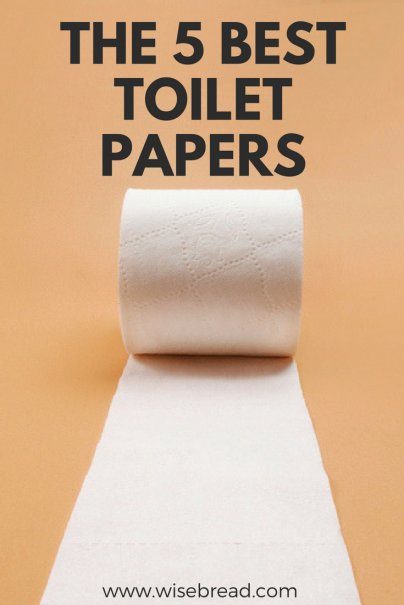 The 5 Best Toilet Papers