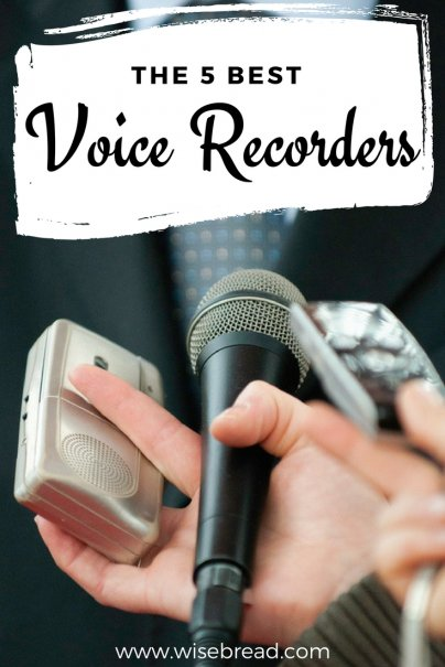 The 5 Best Voice Recorders