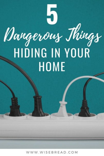 Our homes are full of potentials for danger. But there are a number of less-conspicuous danger-prone items in the home that fly under the radar. Find out which hazards are in your home, and how to keep your family safe with our tips. | #hazards #homecare #safety