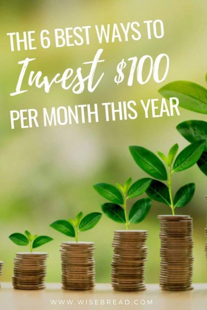 Wandering how should you invest your money? If you have an extra $100 per month to spare, there's more than one way to build wealth and get your personal finances ahead. | #personalfinances #investing #invest