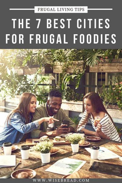 Artisanal food, locavore, and farm-to-table movements are spreading like wildfire to every corner of the U.S. So here are seven U.S. cities that will make your taste buds and tummy happy without breaking the bank. | #frugalfood #cheapfood #USA