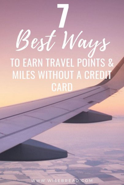 Do you have the wanderlust and like to adventure and travel around the world? If you don't have credit cards we've got the tips and ideas to help you rack up travel points and miles. | #frequentflyer #travelmiles #travelpoints