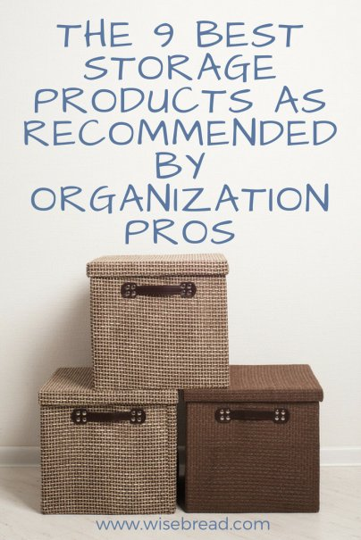The 9 Best Storage Products as Recommended by Organization Pros